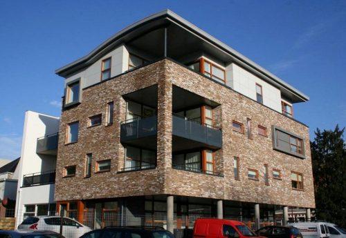 Nieuwbouw 5 Appartementen + Kantoor