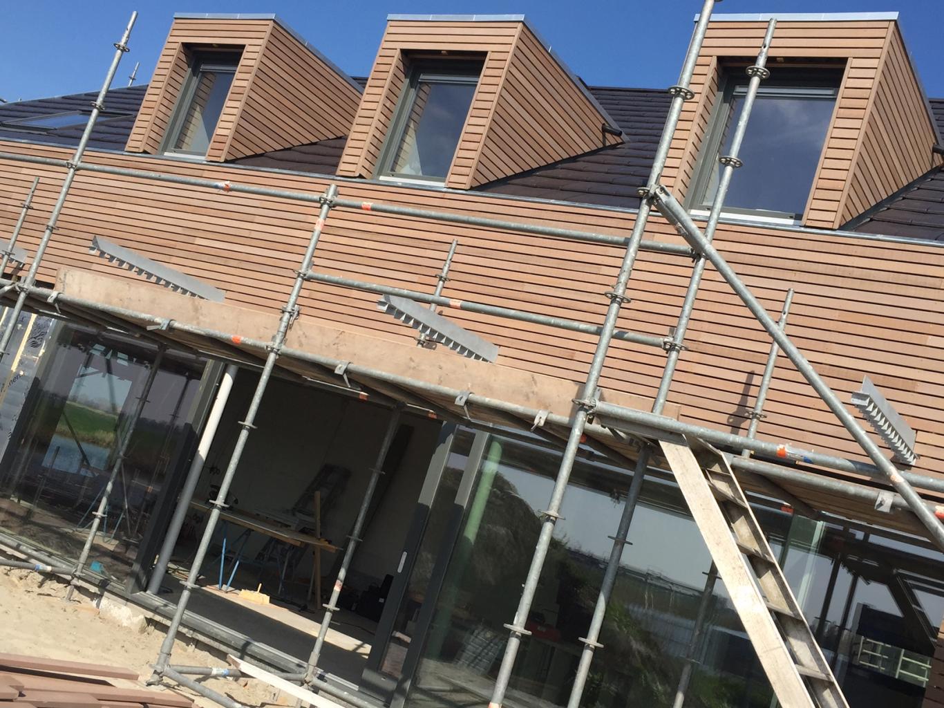 Nieuwbouw Woning Te Warga Zijgevel