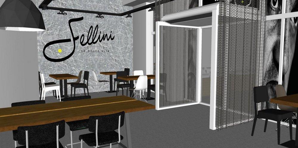 Restaurant fellini leeuwarden de bouwhorst for Fellini leeuwarden