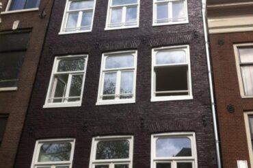 Grachtenpand Amsterdam uitbreiding