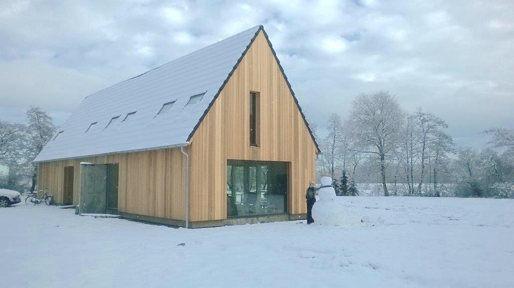 Schuurwoning Rottevalle Winter