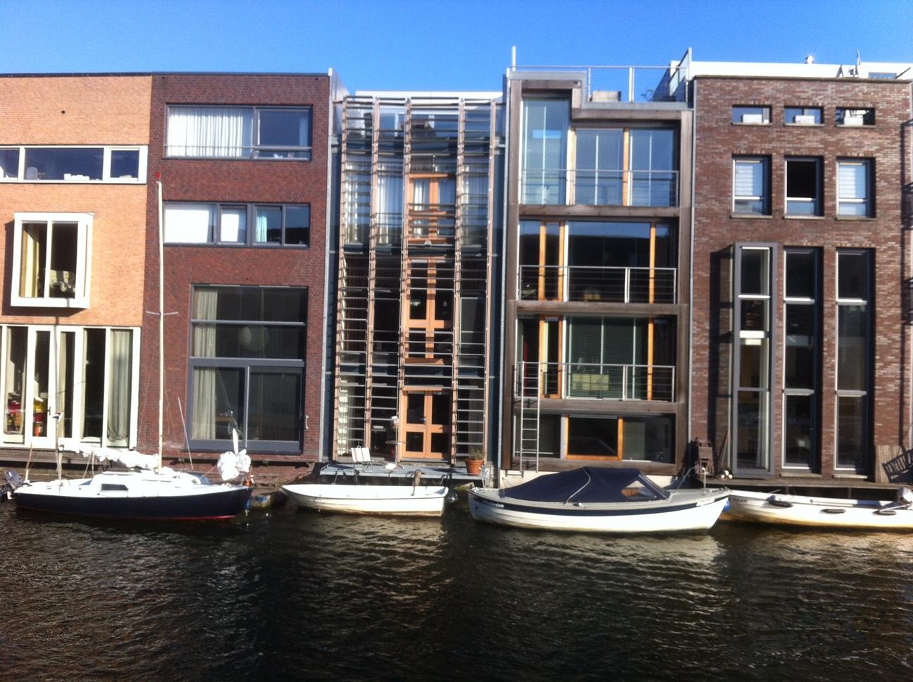 Scheepstimmermansstraat Amsterdam Grachtenpand